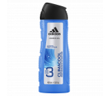Adidas Climacool 3 in 1 shower gel for body, face and hair for men 400 ml