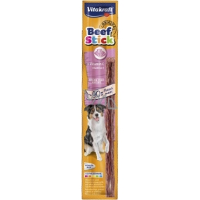 Vitakraft Beef Stick Plus vitamin E masová tyčinka 12 g