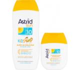 Astrid Sun Kids OF30 suntan lotion 200 ml + Sun OF10 moisturizing suntan lotion 80 ml, duopack