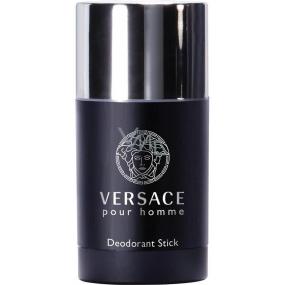 Versace pour Homme deodorant stick for men 75 ml