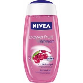 Nivea Powerfruit Refresh shower gel fruit power and pampering care 250 ml