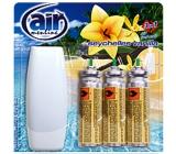 Air Menline Seychelles Vanilla Happy Air freshener set + refills 3 x 15 ml spray