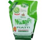 Winnis Eko Piatti Lime concentrated hypoallergenic dishwashing detergent 1 l