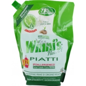 Winnis Piatti Lime Ecological concentrated hypoallergenic dishwasher detergent 1 l