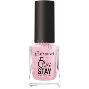 Dermacol 5 Day Stay Long-lasting nail polish 11 Princess Rule 11 ml