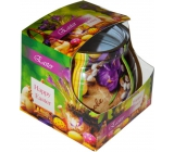 Admit Easter Crocus decorative aromatic candle in glass 80 g