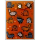 Albi Pouzdro na dokumety Chlupaté kočky A6 - 15,5 x 11,2 cm