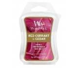 WoodWick Red Currant & Cedar - Red Currant and Cedar Fragrant Wax to Aromalamp 22.7 g