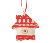 House made of hanging fabric 9 cm