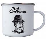 Bohemia Gifts Tin with Gentleman print 8 cm