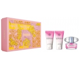 Versace Bright Crystal Eau de Toilette for Women 50 ml + Body Lotion 50 ml + Shower Gel 50 ml Gift Set