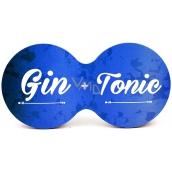 Nekupto Cork coaster Gin + tonic 19 x 9.5 x 0.3 cm