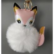 Albi Hairy keychain Fox 8 cm