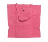 Albi Eco bag made from foldable washable paper - pink 37 cm x 37 cm x 9.5 cm