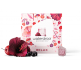 Waterdrop RELAX hibiscus, acerola, chokeberry, microdrink for moments of rest and well-being 12 capsules