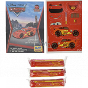 EP Line Cars Activity book, plasticine