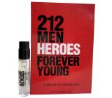 Carolina Herrera 212 Men Heroes Eau de Toilette for Men 1.5 ml with spray, vial