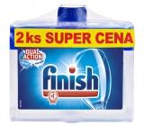 Calgonit Finish Regular čistič myčky 2 x 250 ml, duopack