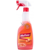 Mefisto 500 ml sprayer for fireplace glass cleaner, fireplace glass cleaner, fireplace tools and grills with red orange aroma