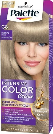 Barvy na vlasy palette