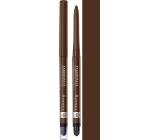 Rimmel London Exaggerate automatická voděodolná tužka na oči 212 Rich Brown 0,28 g