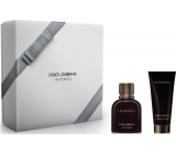 Dolce & Gabbana Intenso pour Homme parfémovaná voda pro muže 75 ml + balzám po holení 100 ml, dárková sada