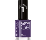 Rimmel London Super Gel lak na nehty 061 Seduce 12 ml