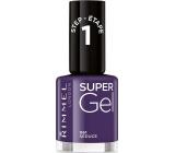 Rimmel London Super Gel nail polish 061 Seduce 12 ml