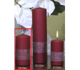 Lima Ribbon candle wine cylinder 50 x 100 mm 1 piece
