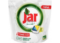 Jar All in One Lemon dishwasher capsules 24 pieces