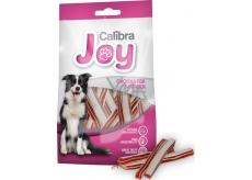 Calibra Dog Joy Chicken & Fish Sandwich doplňkové krmivo pro psy z kuřecího a rybího masa 80 g