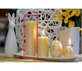 Lima Pastel svíčka metal tmavě žlutá válec 50 x 170 mm 1 kus