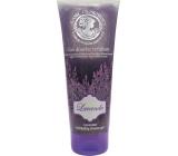 Jeanne en Provence Lavande Levandule sprchový peelingový gel 200 ml