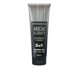 Dermacol Men Agent 3v1 Intensive Charm sprchový gel 250 ml tuba