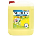 Sidolux Universal Fresh lemon detergent for all washable surfaces and floors 5 l