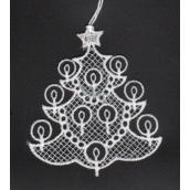 Crochet tree 8x7cm