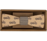 Bohemia Gifts & Cosmetics Wooden butterfly Biker 12,5 cm