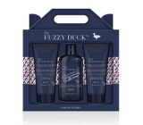 Baylis & Harding The Fuzzy Duck Pink Pepper and Agarwood Hair Shampoo 300 ml + Shower Gel 200 ml + After Shave Balm 200 ml, cosmetic set for men