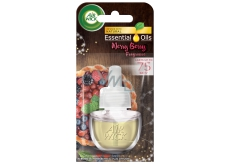 Air Wick Essential Oils Merry Berry - Scent of winter fruit electric freshener refill 19 ml