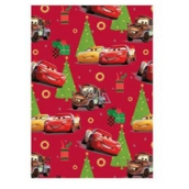 Ditipo Disney Wrapping Paper Red - Kids Cars 2 mx 70 cm