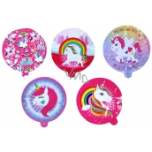 Rappa Self Inflating Balloon with Unicorn 12 cm 1 piece