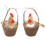 Cup with chicken 12 cm various types 1 piece
