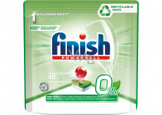 Finish Powerball Eco 0% Finish All in 1 Max dishwasher tablets 40 pieces