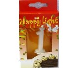 Happy light Cake candle number 1 in a box