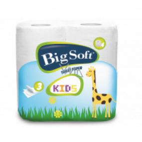 Big Soft Kids Eau de Parfum toilet paper 3 ply 160 snatches 4 pieces