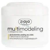 Ziaja Slim Multimodeling coarse-grained shower peeling with anti-cellulite and slimming effect 200 ml
