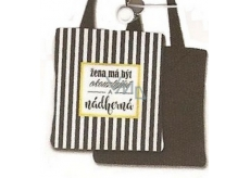 BJ shopping bag NNT 001 Stripes