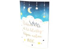 Nekupto Shining Lantern Good Night 19,5 x 14,5 cm