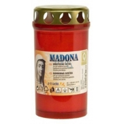 Madona Cemetery candle with lid 2 days burns 135 g