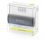 Millefiori Milano Icon Cold Water - Cold water car scent Classic dark gray smells up to 2 months 47 g